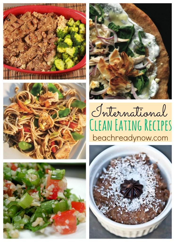 International Clean Eating Recipes