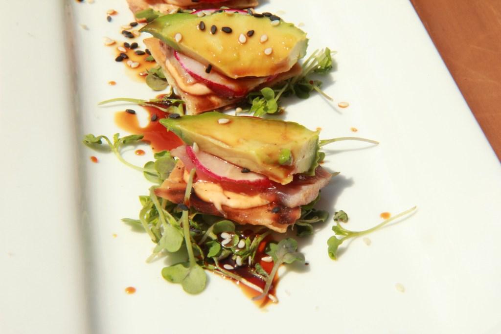 SO yummy - Ahi tuna with aioli mayo and avocado