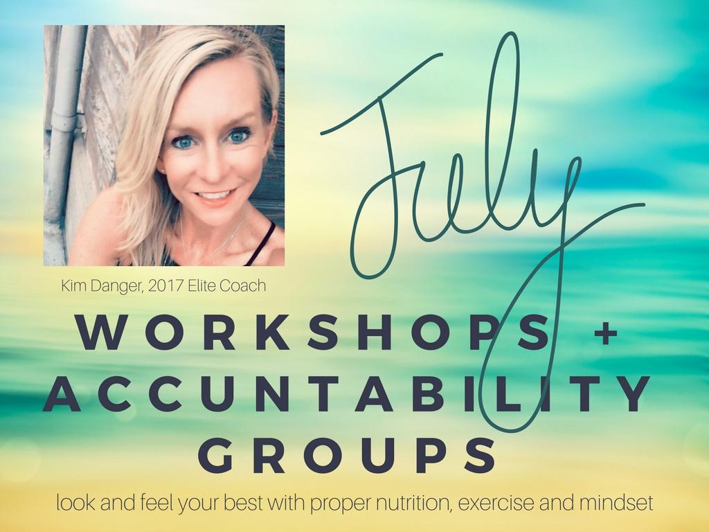 July Accountability Workshops
