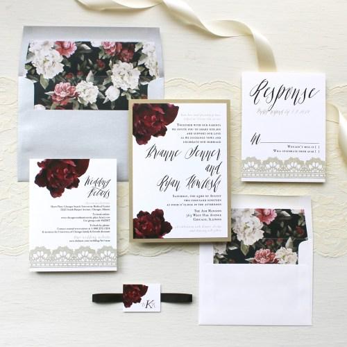 Medium Of Modern Wedding Invitations