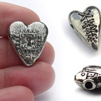 Unique Valentines Day hearts for inspirational jewelry