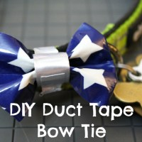 DIY Duct Tape Bow Ties for Dogs