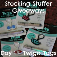 Stocking Stuffer Giveaway Day 1: Twigo Tags