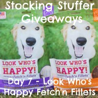 Stocking Stuffer Giveaway Day 7: Look Who's Happy Fetch'n Fillets