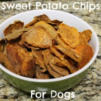 Healthy Super Bowl Snacks - Sweet Potato Chips for Dogs
