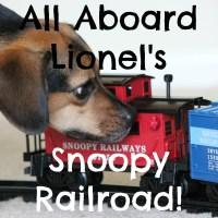 All Aboard Lionel's Snoopy Railroad!