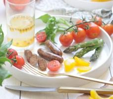 自製脆皮香腸【奧爾良腌料】Homemade Sausage
