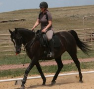 Abby riding