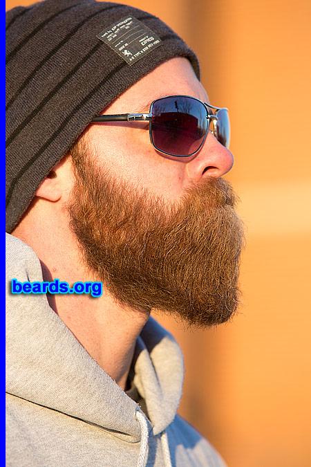 Sean with his amazing beard