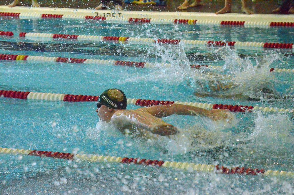 Girls swimming ends season on a high note