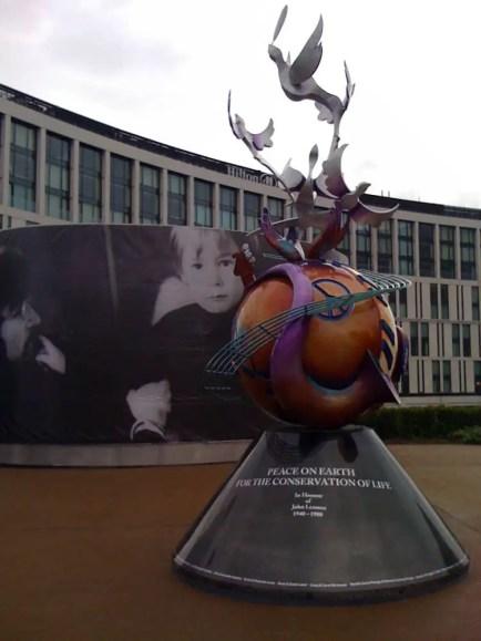 John Lennon Peace Monument, Liverpool, 2010