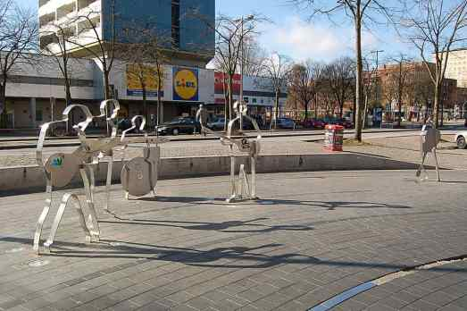 Beatles-Platz, Hamburg, Germany