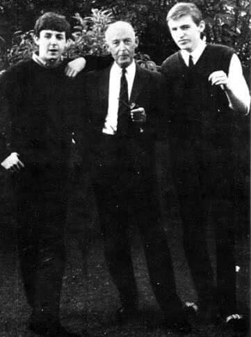 Paul, Mike and Jim McCartney, 1950s
