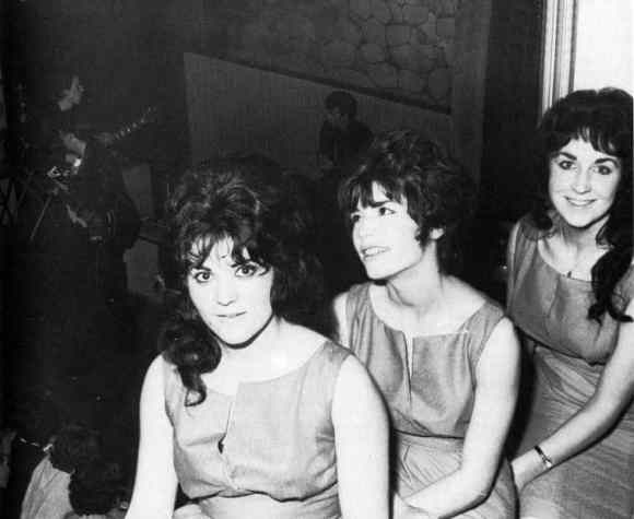 The Beatles and the Shimmy-Shimmy Queens at Aintree Institute, Liverpool, 19 August 1961