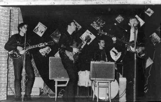 The Beatles at the Palais Ballroom, Aldershot, 9 December 1961