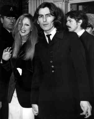 George and Pattie Harrison, 1968