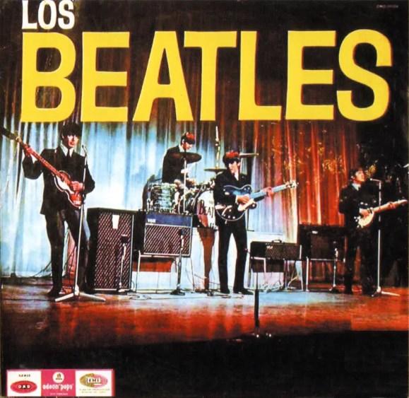 Los Beatles album artwork - Argentina