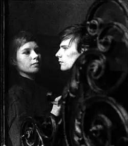 Astrid Kirchherr and Stuart Sutcliffe