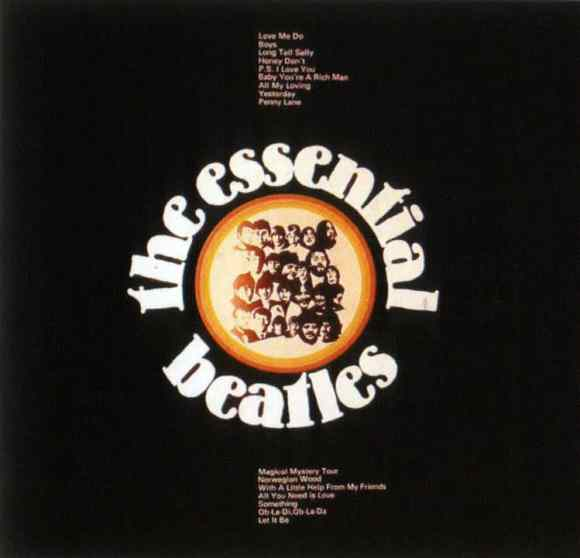 The Essential Beatles album artwork - Australia, New Zealand