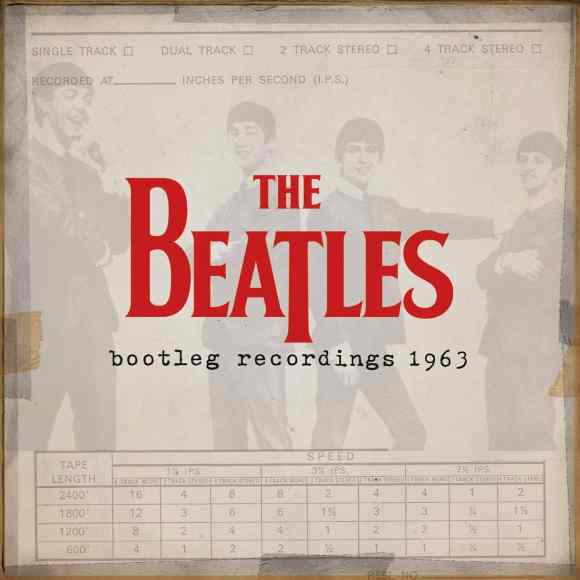 The Beatles Bootleg Recordings 1963 cover artwork