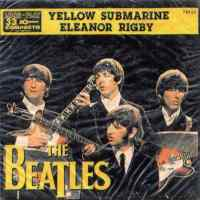 Yellow Submarine/Eleanor Rigby single artwork - Brazil