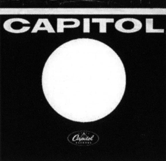 Capitol single sleeve, 1963-68 - Canada