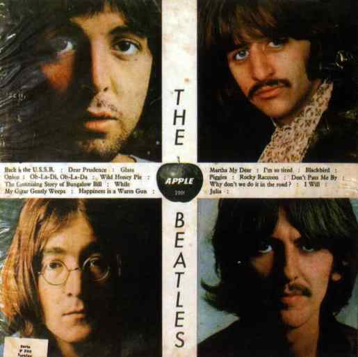 The Beatles (White Album) artwork - Chile
