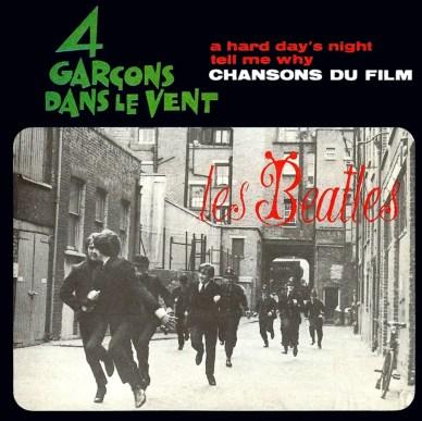 4 Garçons Dans Le Vent album artwork - France