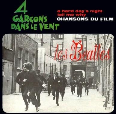 4 Garçons Dans Le Vent EP artwork - France