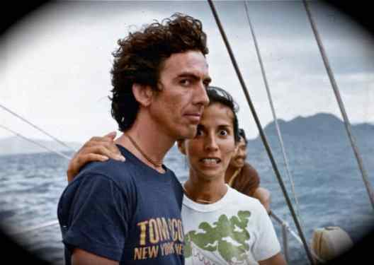 George and Olivia Harrison in the Bahamas, 1970s (© Neil Corsatea/AirC Images)