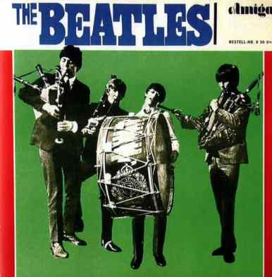 The Beatles album artwork - East Germany