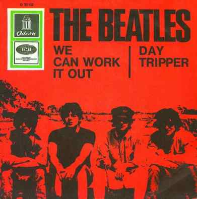 We Can Work It Out/Day Tripper single artwork - Germany