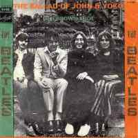 The Ballad Of John And Yoko single artwork - Israel