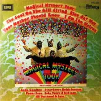 Magical Mystery Tour album artwork - Israel