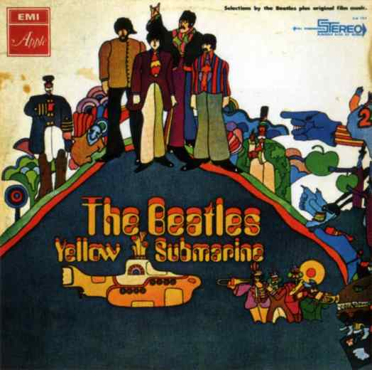 Yellow Submarine album artwork - Israel