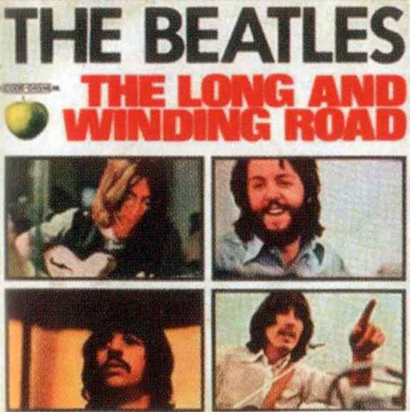 The Long And Winding Road single artwork - Italy