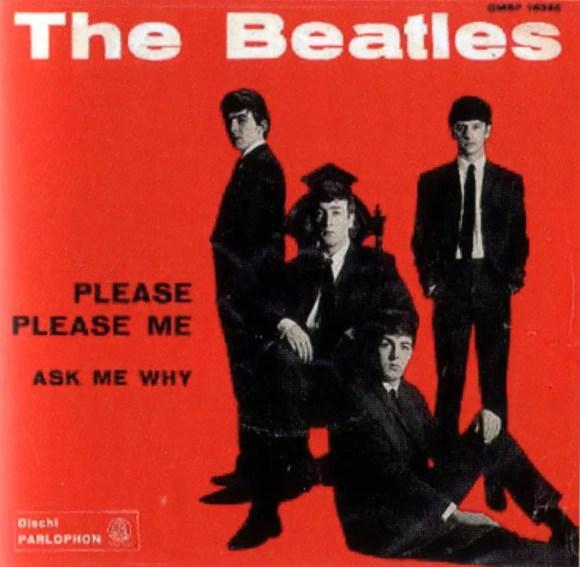 Please Please Me single artwork - Italy