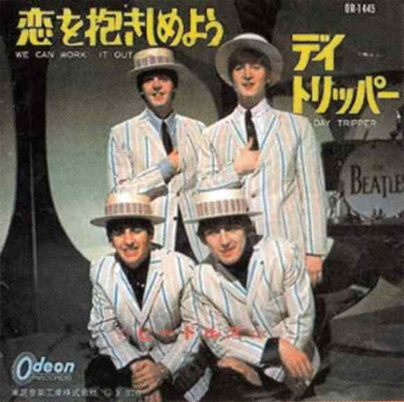 We Can Work It Out single artwork - Japan