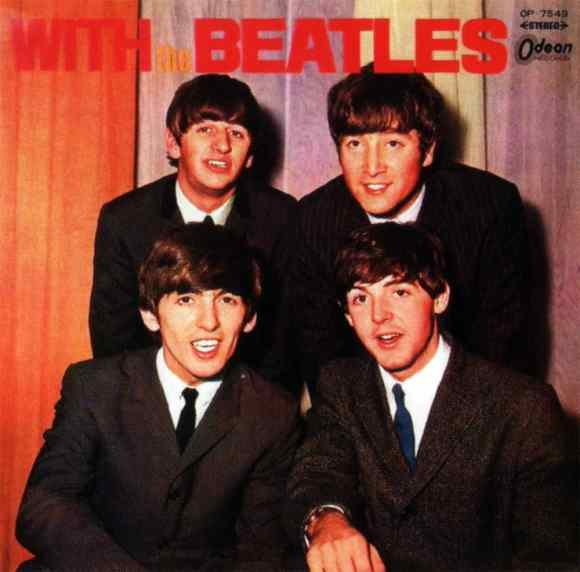 With The Beatles album artwork - Japan