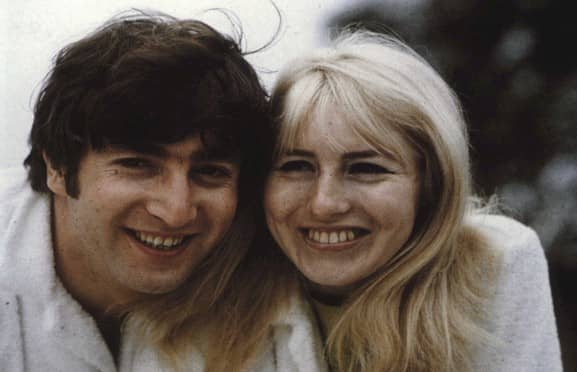John and Cynthia Lennon