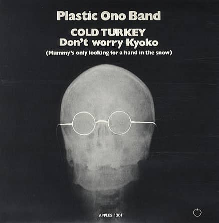 Plastic Ono Band - Cold Turkey single artwork