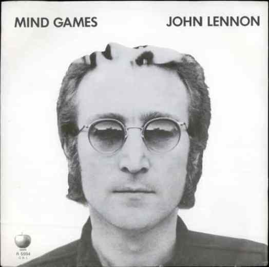 Mind Games single artwork - John Lennon