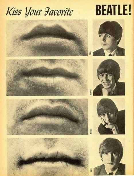 'Kiss your favorite Beatle!'