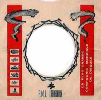 EMI single sleeve, 1967-68 - Lebanon