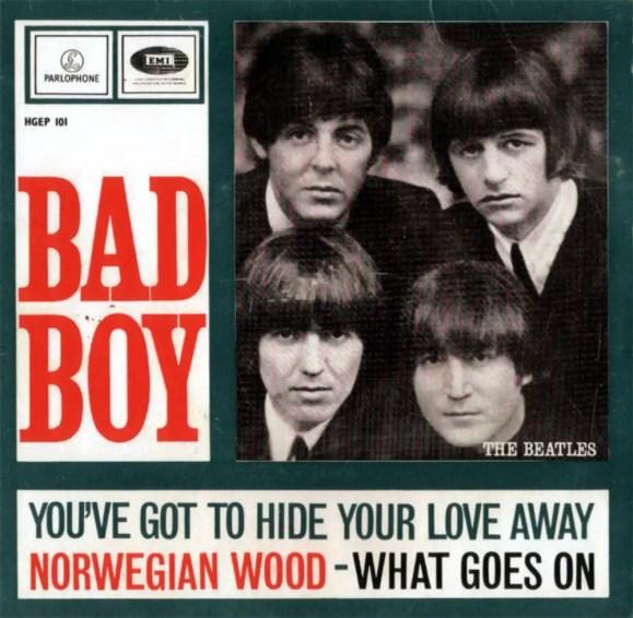 Bad Boy EP artwork - Netherlands