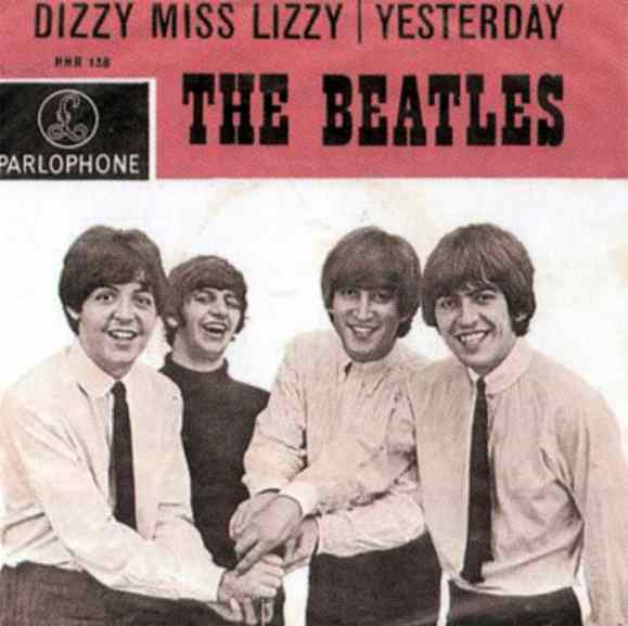 Dizzy Miss Lizzy single artwork - Netherlands