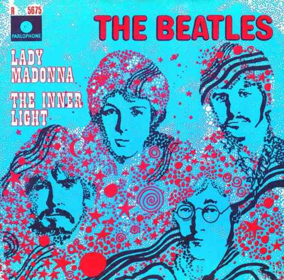 Lady Madonna single artwork - Netherlands