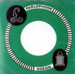 Odeon single sleeve, 1963-64- Netherlands