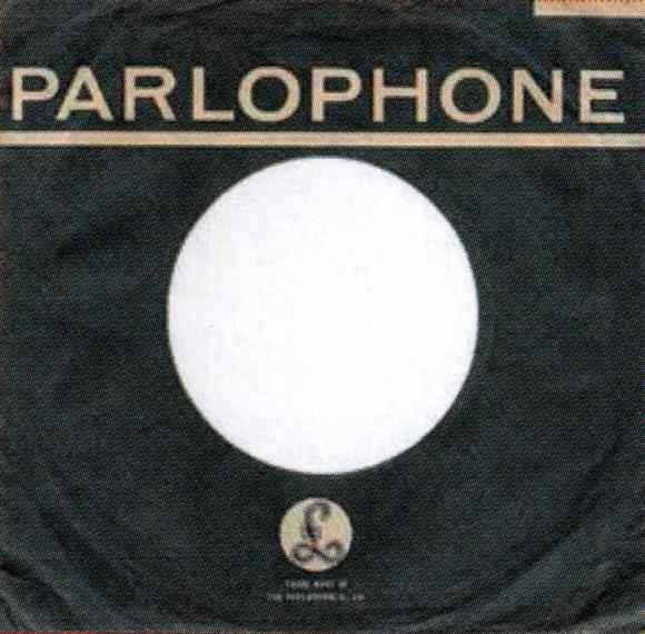 Parlophone single sleeve, 1964-68 - New Zealand