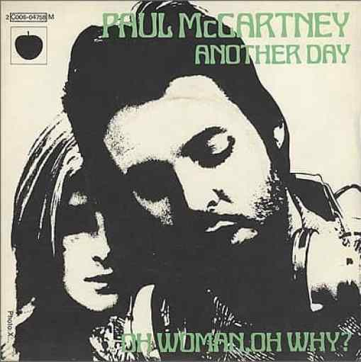 Another Day single artwork - Paul McCartney